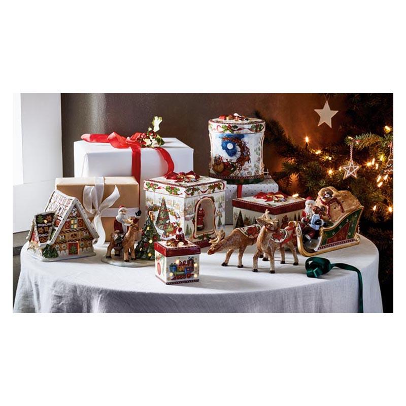 VB- Świecznik Christmas Toys, kwadratowy (2)