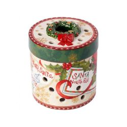 VB- Świecznik Christmas Toys, okrągły