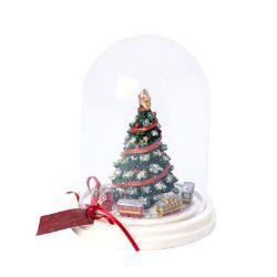 VB- Szklana ozdoba z choinką Christmas