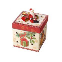 VB- Świecznik Christmas Toys, kwadratowy