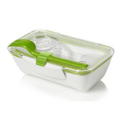 BB - Pojemnik BENTO BOX biało/zielony