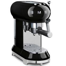Ekspres do kawy, kolbowy, czarny