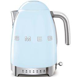 SMEG Czajnik elektryczny z regulacją temperatury. pastelowy błękit