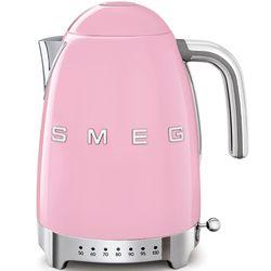 SMEG Czajnik elektryczny z regulacją temperatury. pastelowy róż