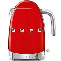 SMEG Czajnik elektryczny z regulacją temperatury. czerwony