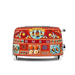SMEG Toster na 2 kromki Dolce&Gabbana