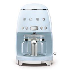 SMEG Ekspres do kawy. przelewowy, pastelowy błękit