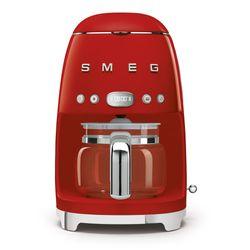 SMEG Ekspres do kawy. przelewowy, czerwony