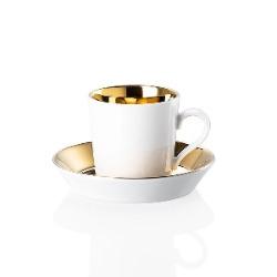 Filiżanka do espresso (0.1 l) ze spodkiem Sunshine Tric Arzberg