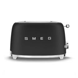 SMEG Toster na 2 kromki (czarny matowy)
