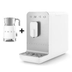 SMEG Automatyczny ekspres do kawy Basic (biały mat) + GRATIS