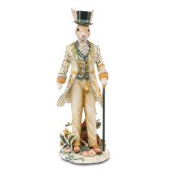 Figura Królik z kapeluszu Gentleman Bunny Fitz and Floyd Goebel