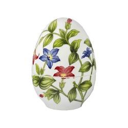 Goebel Pojemnik jajko duży Vivid Floral Splendour Fitz and Floyd GOEBEL