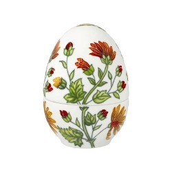 Goebel Pojemnik jajko mały Colourful Flora Fitz and Floyd