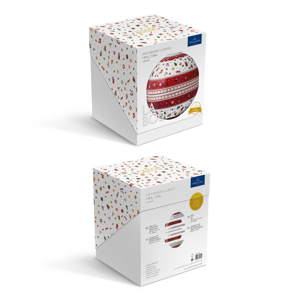 Zestaw naczyń 7 el. La Boule Toy's Delight Villeroy & Boch (7)