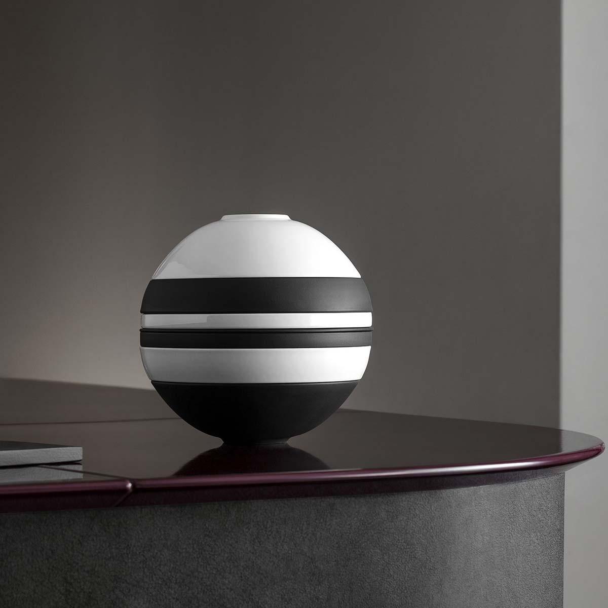 Zastawa 7-el. La Boule Iconic biało-czarna Villeroy & Boch (2)